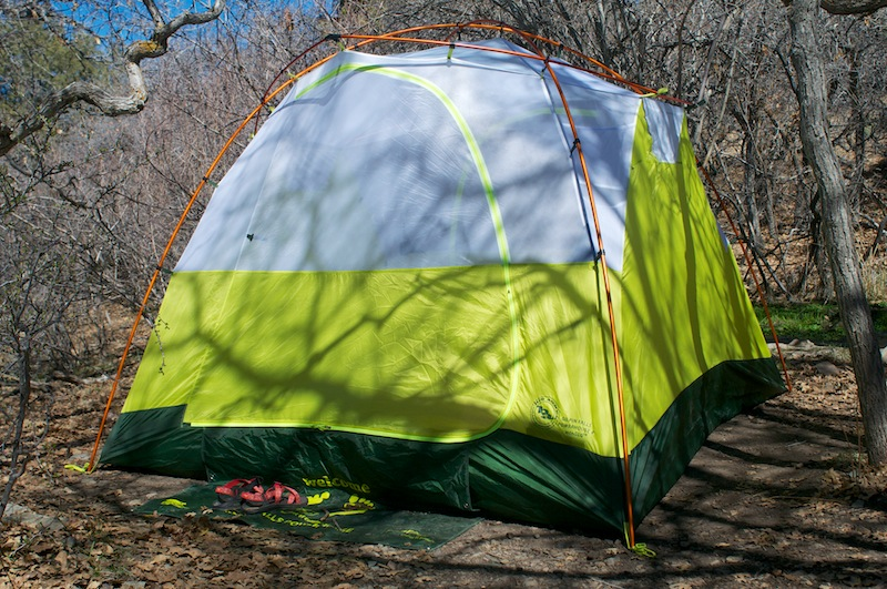 Big Agnes mtnGLO tent (2) & Review: Big Agnes Gilpin Falls Powerhouse 4 mtnGLO Lighted Tent