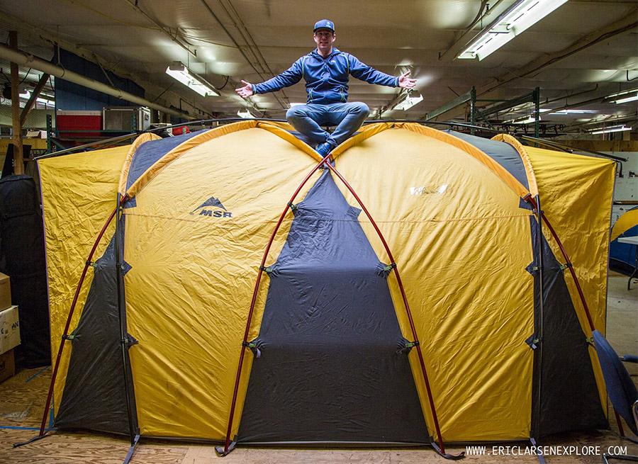 & Omega Tent: Sneak Peek At u0027High-Altitude Basecampu0027