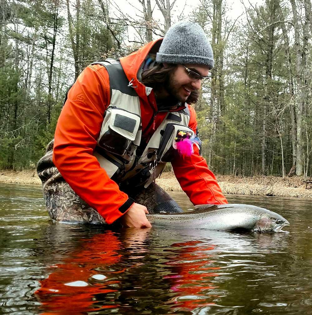 From the field steelhead fishing in michigan gear junkie for Steelhead fishing gear