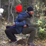 poop in woods 1