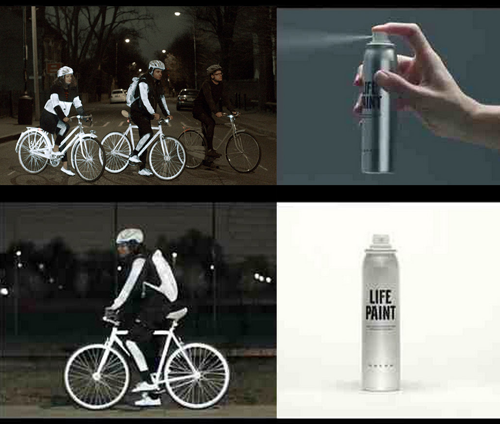 Spray On Reflective Paint For Bikers At Night Gear Junkie