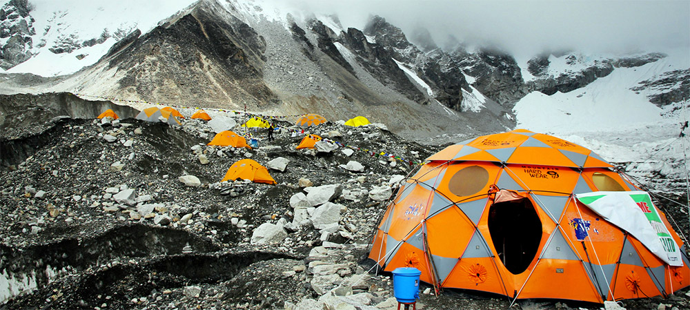 How Many Miles From >> Earthquake On Mount Everest