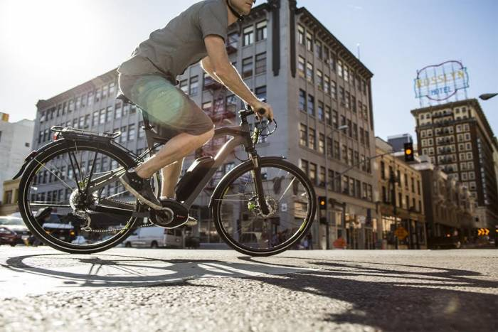 Bike Jumping Gears Electric Bike City