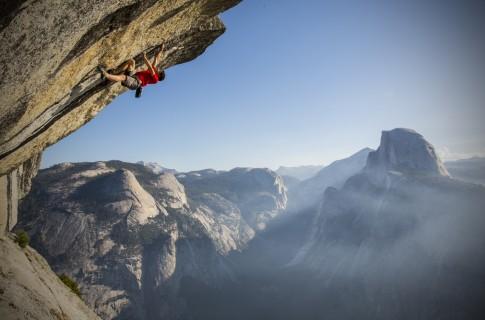 Honnold climbing 2