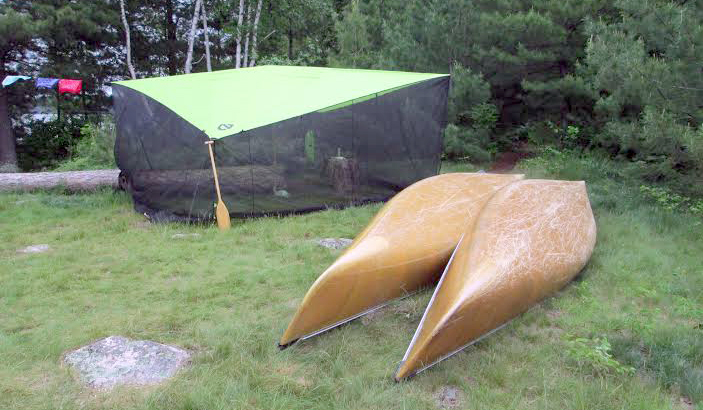 Nemo Bugout Tarp & Mesh-Wall Tarp Gives u0027Oasisu0027 From Bugs While Camping
