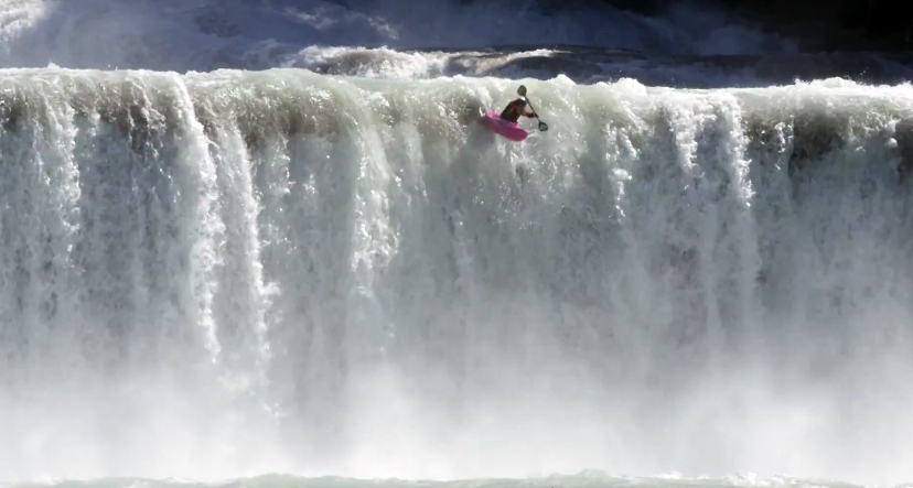 Huge Waterfall High Consequence Kayak Comp Gearjunkie