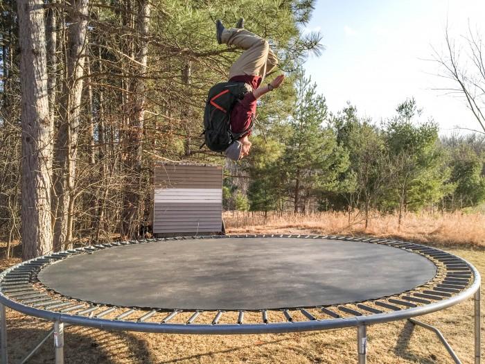 Osprey Atmos Trampoline Test