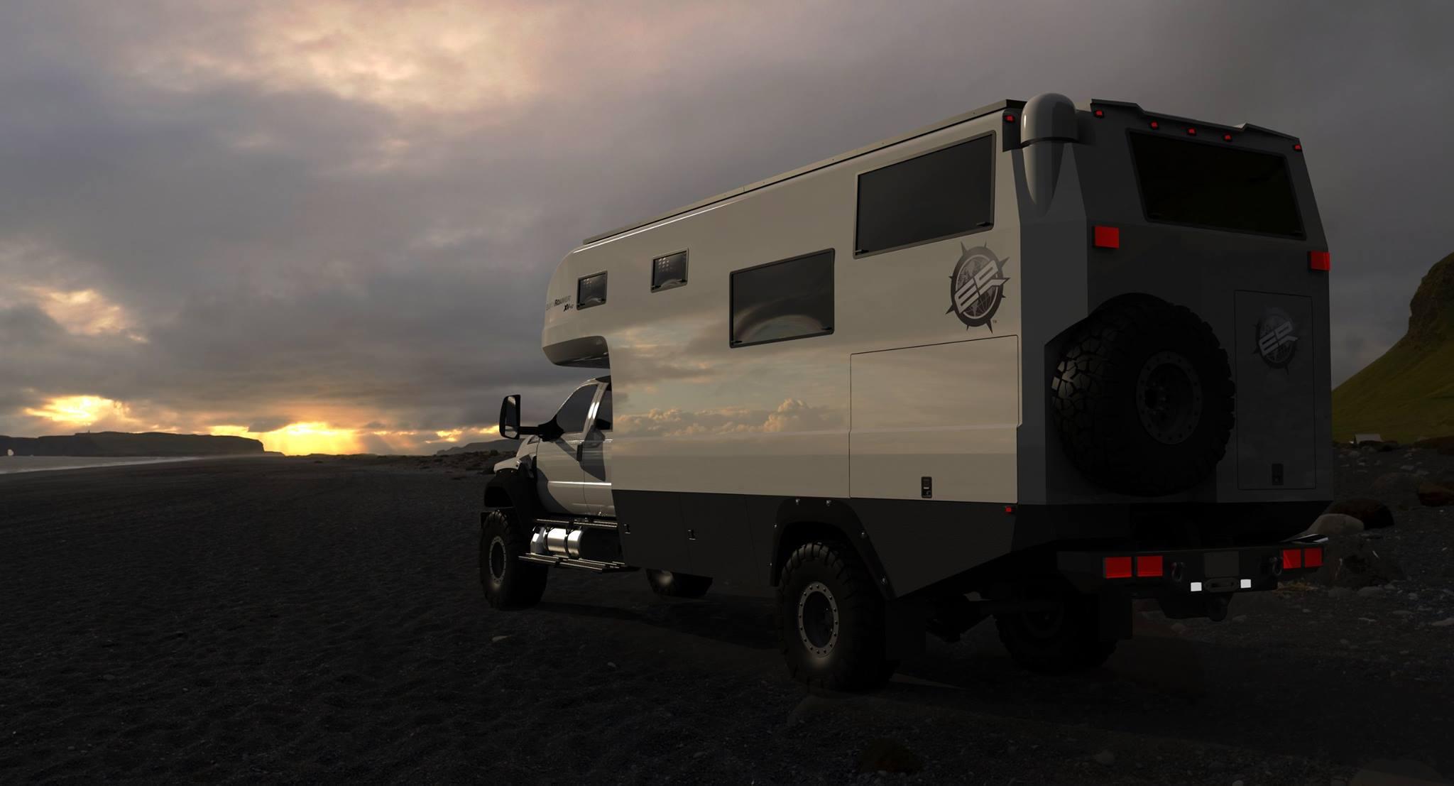 2016 Ford F650 >> EarthRoamer XV-HD: Bigger, Badder Off-Road Camper | Gear ...