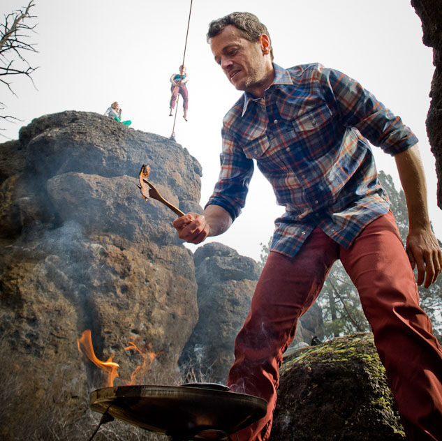 Bacon-Off! Camp Stove Cooking Challenge