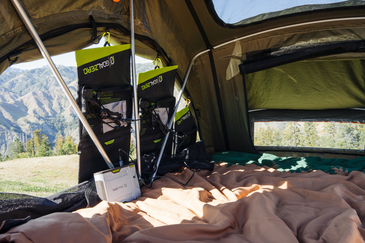 Rooftop Tents Get Upgrade