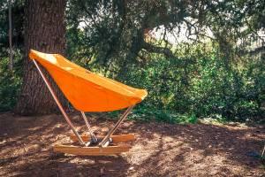 evergreen camp chair