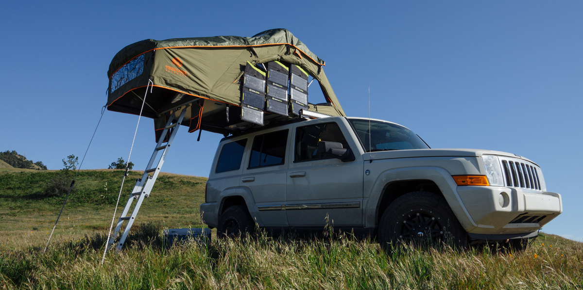 rooftop car tent solar & Rooftop Tents Get Upgrade