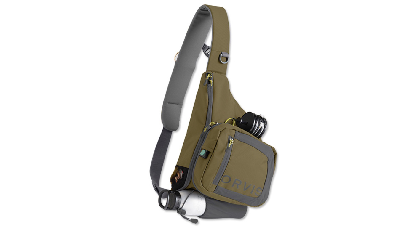 Fishing gear complete your summer kit for Fishing sling pack