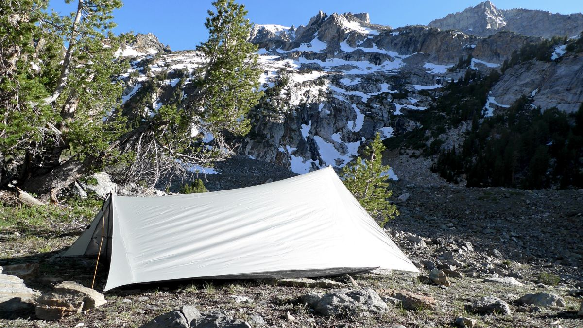 Tarptent ProTrail photo courtesy of Henry Shires & Bike Camping Gear Made Tested In America