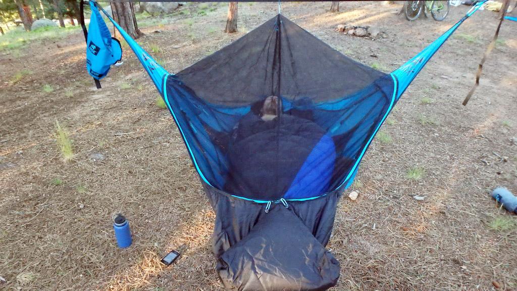 Head To Head Camping Hammock Hang Off Test