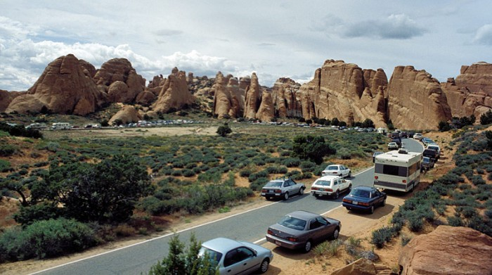 Arches National Park Crowds