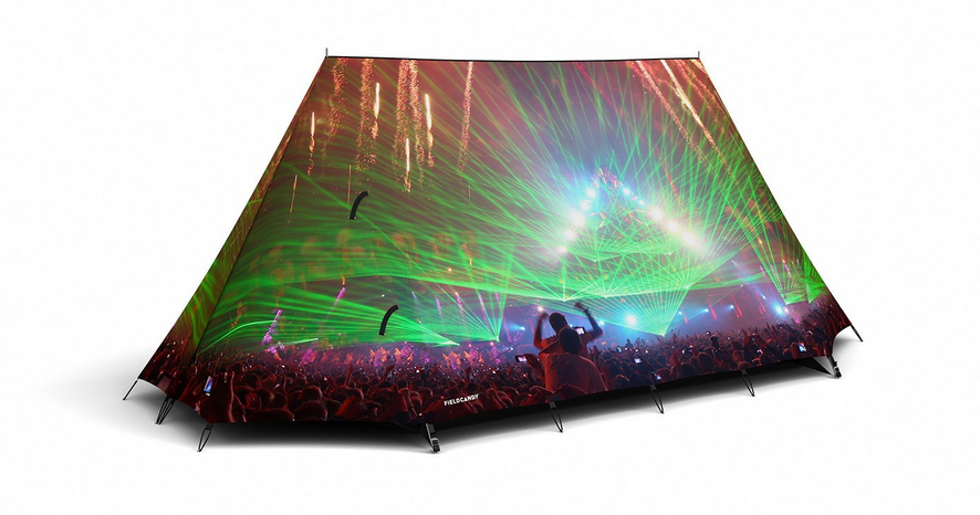 Festival Tent  sc 1 st  GearJunkie & Field Candyu0027 Launches Dazzling Tents For US Market