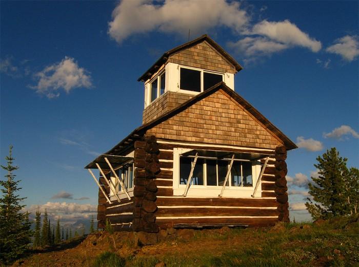 Hornet Peak lookout
