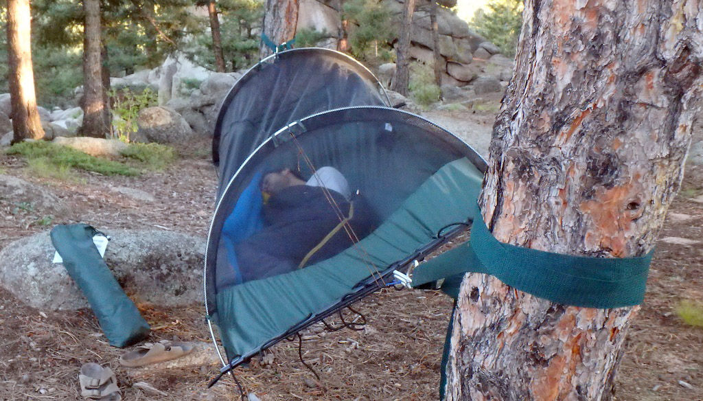 Head To Head Camping Hammock Hang Off Test