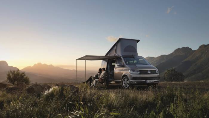VW California camper van