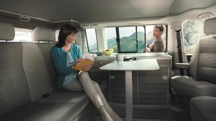 2016 Camper Van >> Volkswagen Unveils New California Camper Van