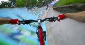 bike bobsled track