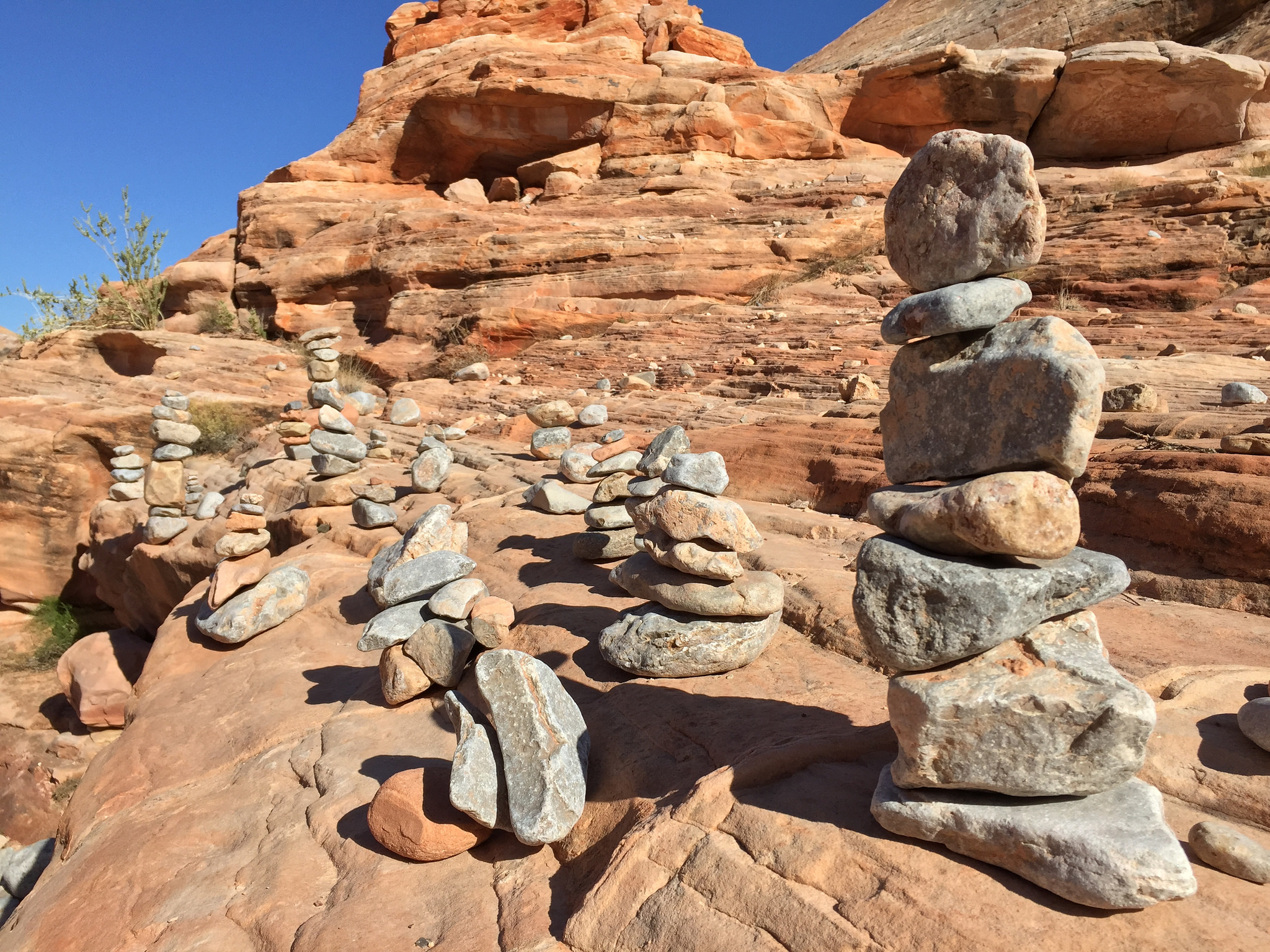 Cairns Rock Stacking