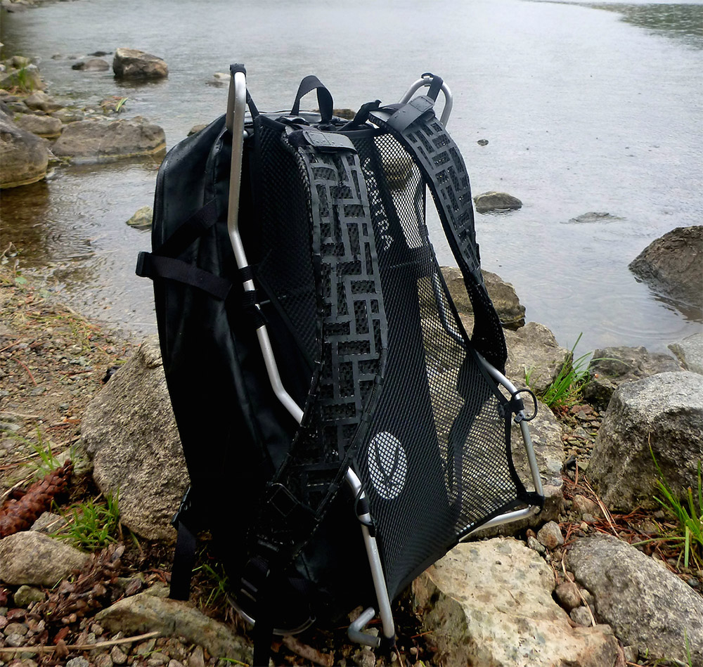 External Backpack Frame \'Add-On\' Gives Support To Any Load