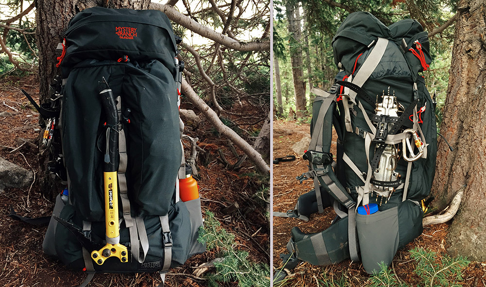 how to clean a backpacking pack