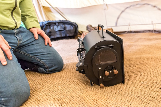 Portable Wood Burning Camp Stove Packable Light Gearjunkie