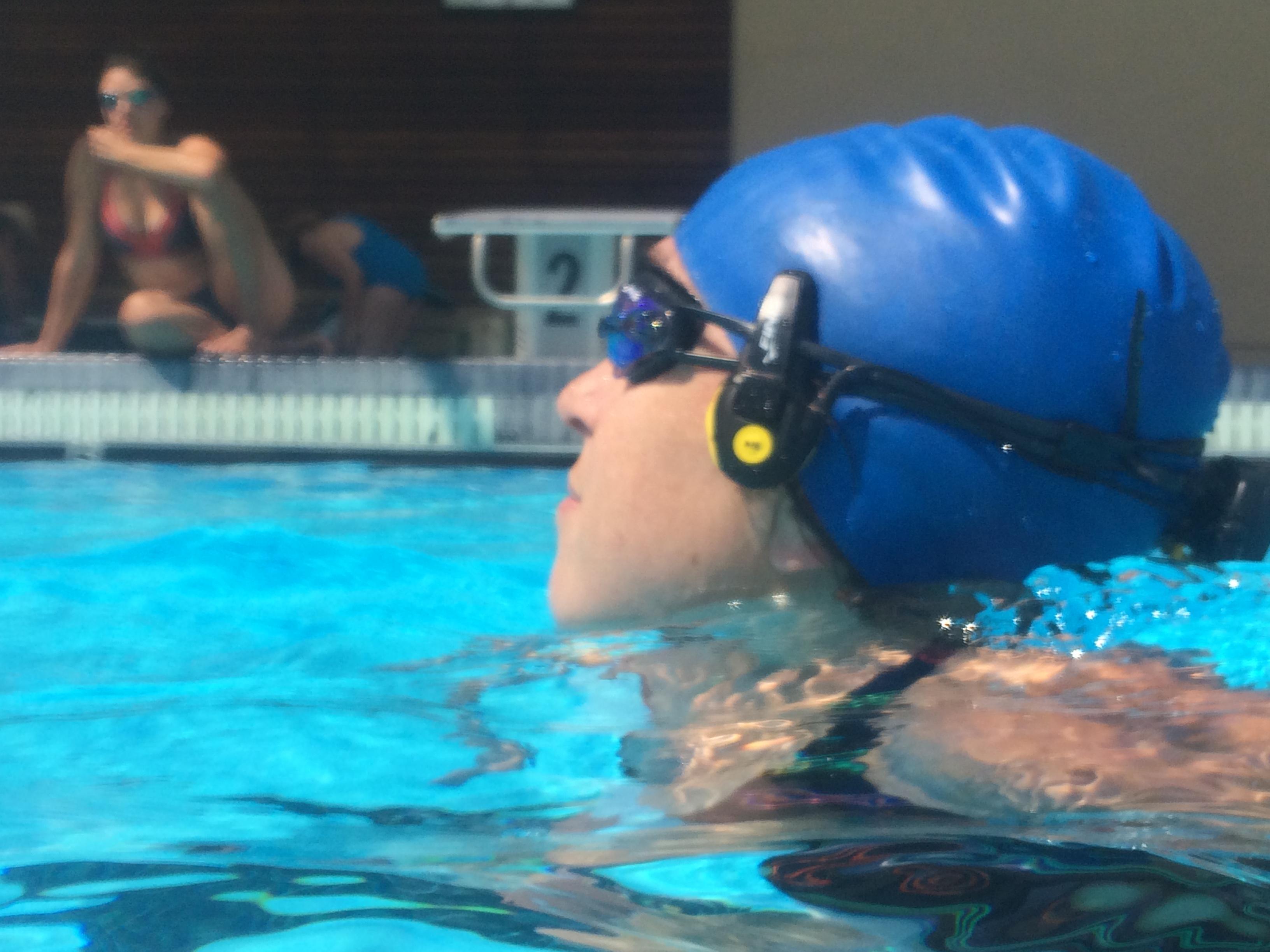 Underwater 'Headphones' Stream Audio Thru Jaw