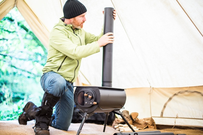 With fall hunting c&s popping up in the next couple months this looks like a nice option to heat wall tents on chilly nights. Unfortunately it wonu0027t ... & Portable: Wood-Burning Camp Stove Packable Light