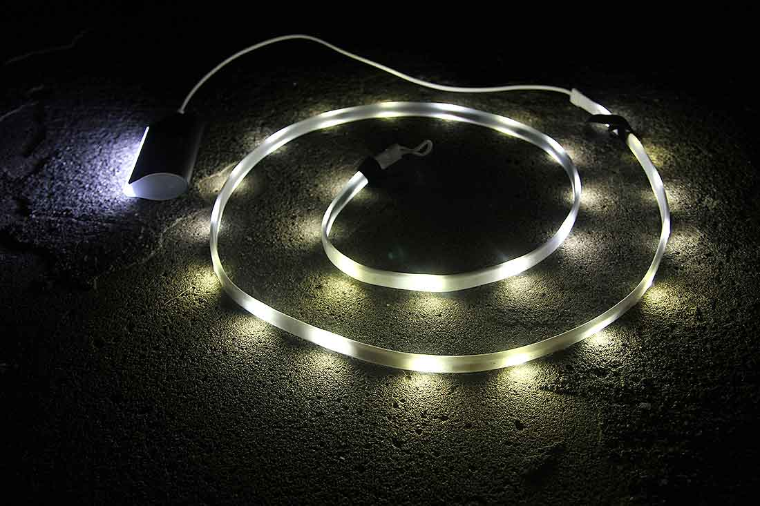 Led Light Strand 39 Luminoodle 39 New Kind Of Camp Lantern