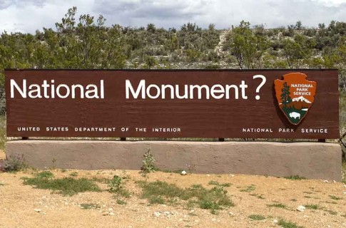 national-monument-sign