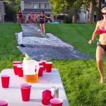 slip slide flip cup