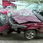 volvo 850 crash test