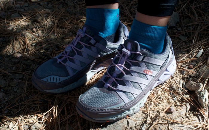 The Versatrail is available in men's and women's models; women's shown here