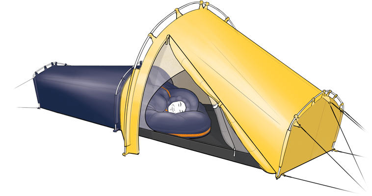 Polarmond-ALL-IN-ONE-Zelt-Tent-Industry-Award-  sc 1 st  GearJunkie & All-In-One Sleeping u0027Podu0027 Is Winter Camping Upgrade