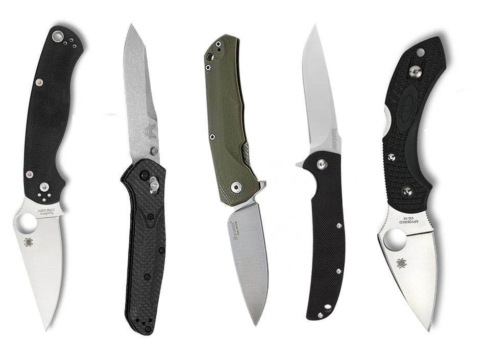 Fold Up Blades : Knife junkie favorite folding blades for edc
