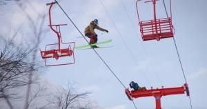 ski lift grind