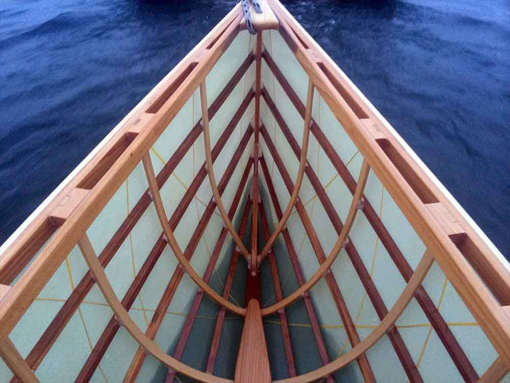 perhaps the closest thing to compare our boats to aside from other skin on frame craft is a handmade cedar strip canoe its in a similar market niche