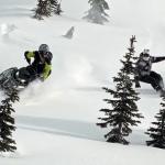 snowmobile snowboard