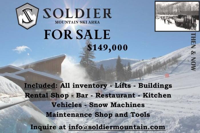 soldier mountain ski area sale