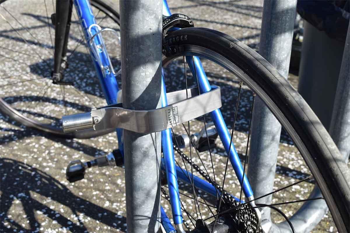 Titanium Bike Lock Ultra Light Tigr Mini Review