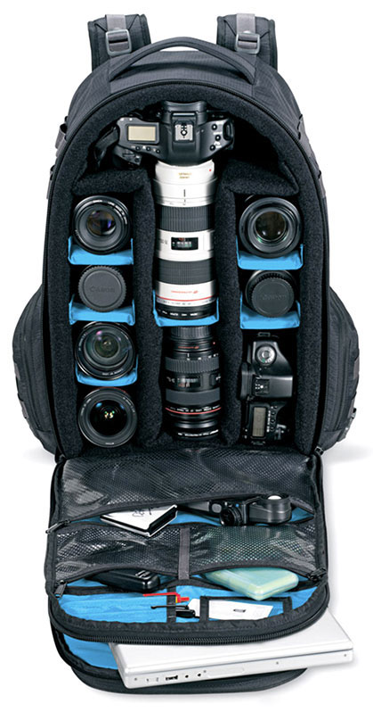 Dakine Camera Pack Compartments