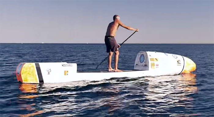 man to attempt atlantic crossing on sup board. Black Bedroom Furniture Sets. Home Design Ideas