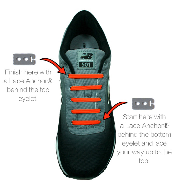 How To Wear Your Shoes Without Lacing Them