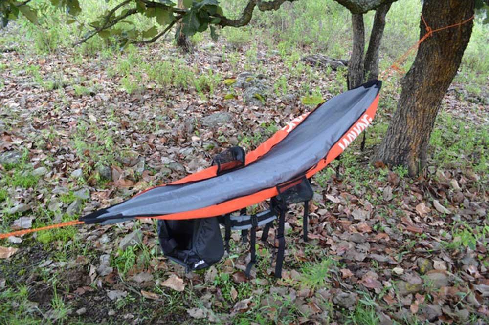 walking backpack hammock transformer backpack is also a hammock  rh   gearjunkie