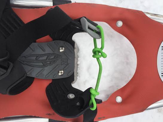 Gear Tie Snowshoe Repair