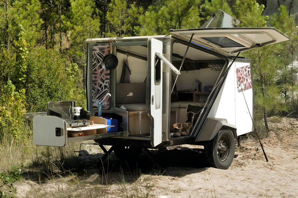 Model Micro Camper Is A 39Front Porch39 For Your Campsite